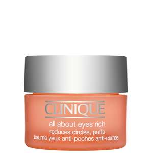 Clinique Eye & Lip Care All About Eyes Rich Reduces Circles, Puffs 15ml