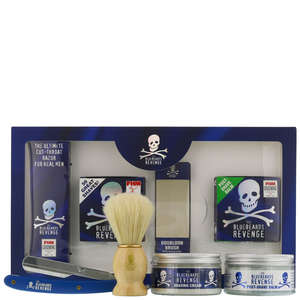 The Bluebeards Revenge Kits 'Cut Throat' Shavette Kit (Blade Not Included)