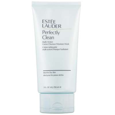 Estée Lauder Masks & Exfoliators Perfectly Clean Multi-Action Creme Cleanser and Moisture Mask All Skin Types 150ml
