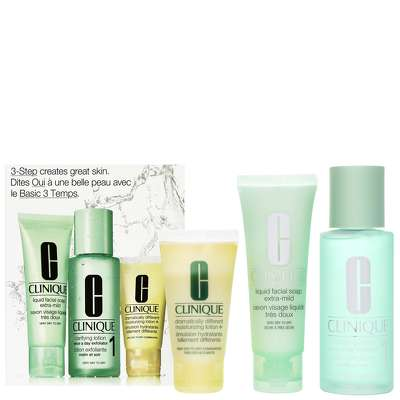 Clinique 3-Step Introduction Kit Skin Type 1  Very Dry   Dry Skin - Skincare 661d2c6224