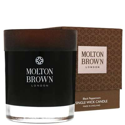 Molton Brown Black Peppercorn Single Wick Candle 180g