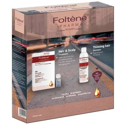 Foltène Anti-Hair Loss Solutions for Women Hair   Scalp Treatment Kit for  Women - Haircare 3b9fbb536f6