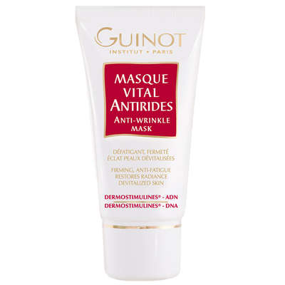 guinot facial rejuvenating masque vital anti rides anti wrinkle mask 50ml skincare. Black Bedroom Furniture Sets. Home Design Ideas