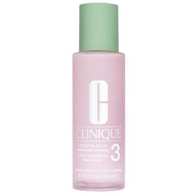 Clinique Cleansers & Makeup Removers Step 2 (Exfoliate) Clarifying Lotion 3 Combination/Oily Skin 200ml