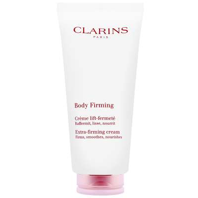clarins extra firming body cream how to use