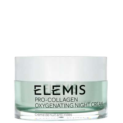 4 Pack - ELEMIS Pro-Collagen Oxygenating Night Cream, Anti-wrinkle Night Cream 1.6 oz Les Demaquillantes Gel Demaquillant DTox Cleansing Gel With Cinnamon Extract - Normal To Combination Skin 13.5oz