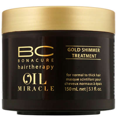55549c3597 Schwarzkopf BC Bonacure Oil Miracle Gold Shimmer Treatment 150ml - Haircare